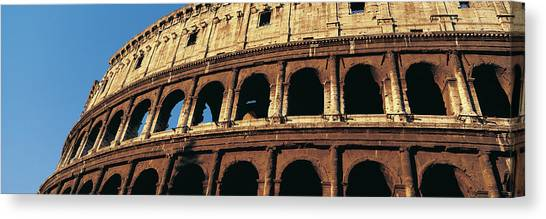 Colosseum, Rome, Italy Canvas Print by Jeremy Woodhouse