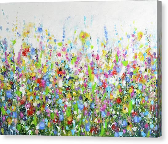 Colourful Meadow 40 Canvas Print
