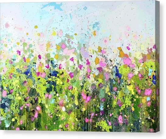 Colourful Meadow 41 Canvas Print