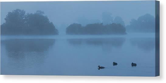 Misty Dawn Canvas Print