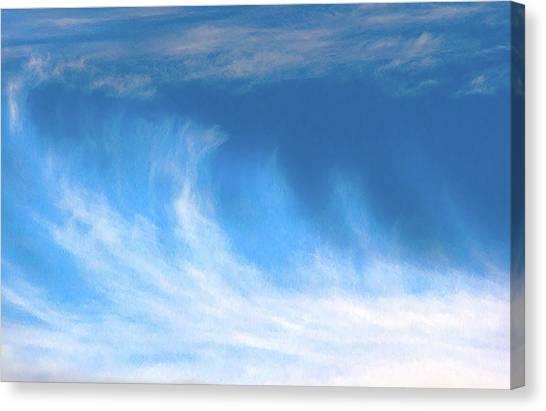Colours. Blue Canvas Print