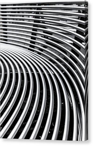 Colours. Silver Canvas Print