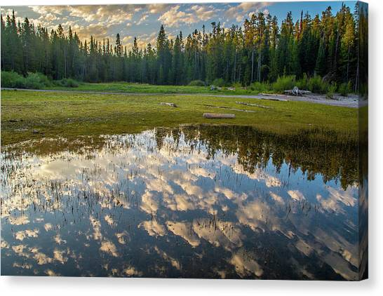 Colter Bay Reflections Canvas Print