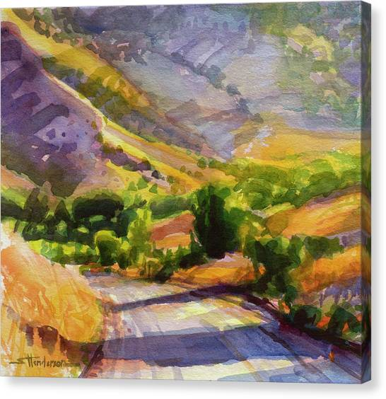 Countryside Canvas Print - Columbia County Backroads by Steve Henderson