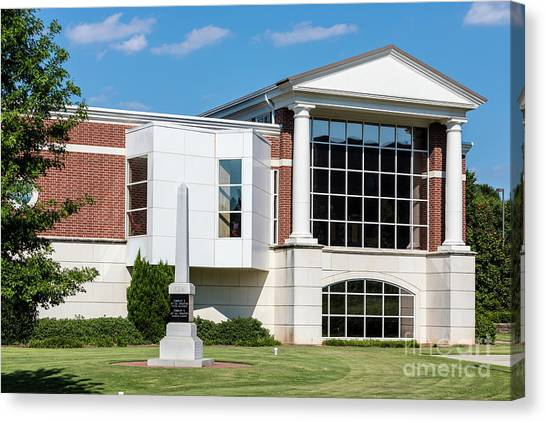 Columbia County Main Library - Evans Ga Canvas Print
