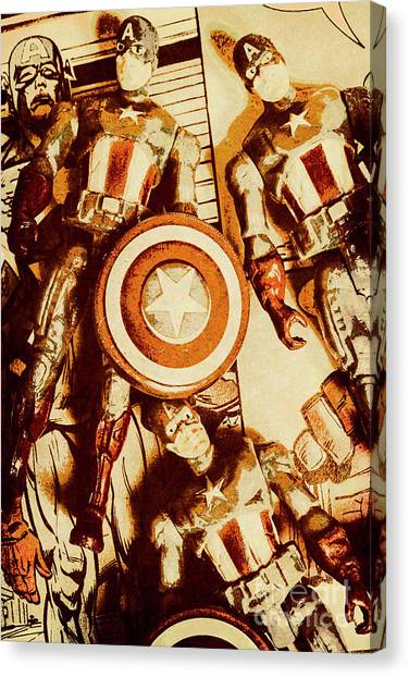 Comic Canvas Print - Comic Collector Inc. by Jorgo Photography - Wall Art Gallery