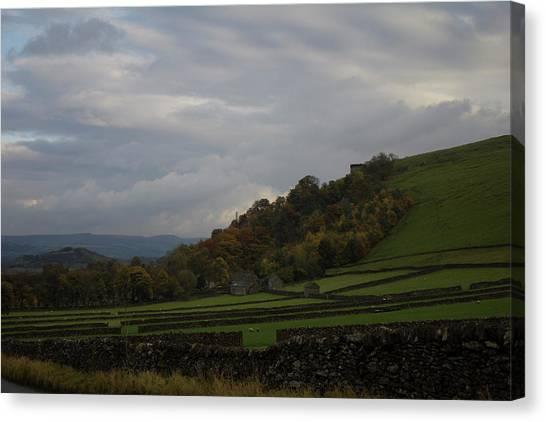 Derbyshire Stone Walls Canvas Print
