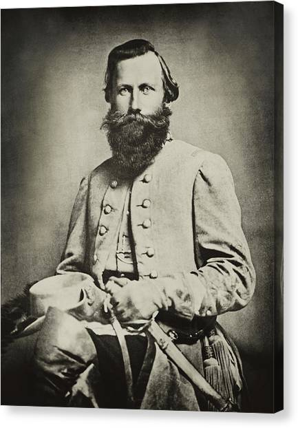 Impression Canvas Print - Confederate Jeb Stuart by Paul W Faust -  Impressions of Light