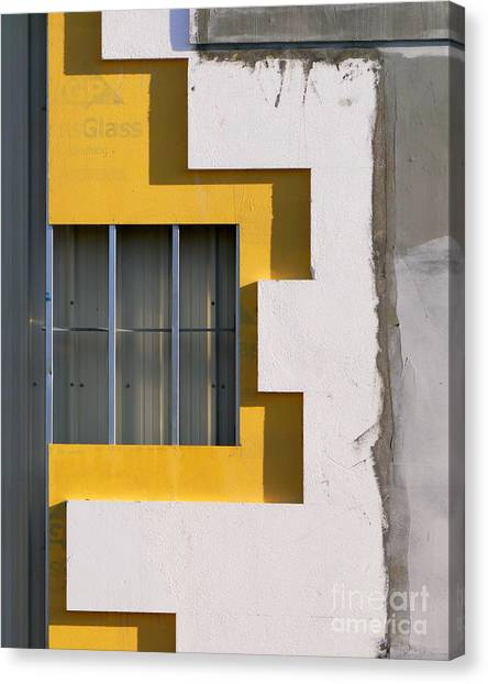 Construction Abstract Canvas Print