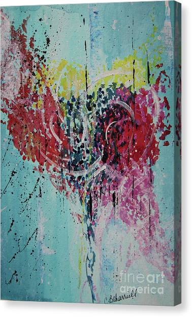 Canvas Print - Continuous Love by Cathy Beharriell