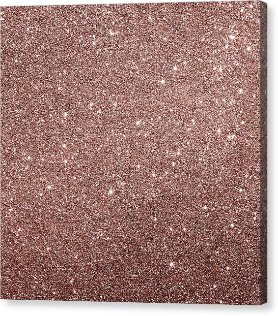 Canvas Print featuring the photograph Cooper Glitter by Top Wallpapers