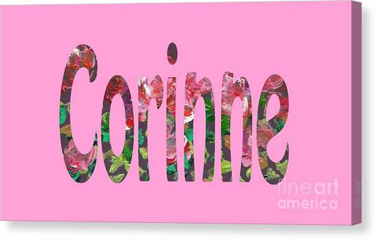 Corinne Canvas Print
