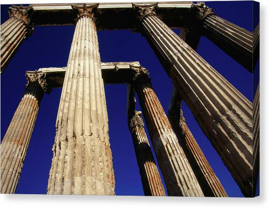 Corinthian Columns Of The Temple Of Canvas Print
