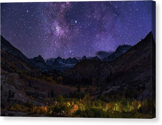 Canvas Print featuring the photograph Cosmic Nature by Tassanee Angiolillo