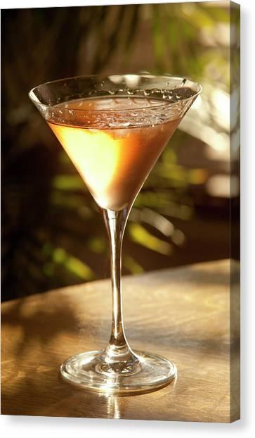 Cosmopolitan Cocktail Canvas Print