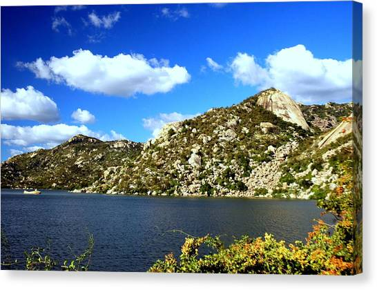 Rio Grande River Canvas Print - Cottom Clouds by Wallace Moura
