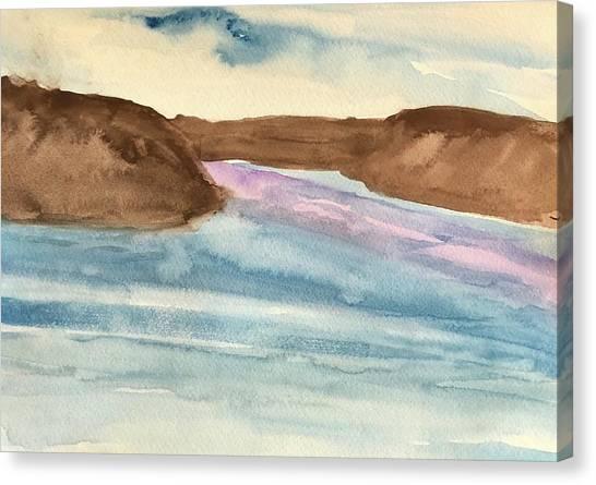County Lake Canvas Print