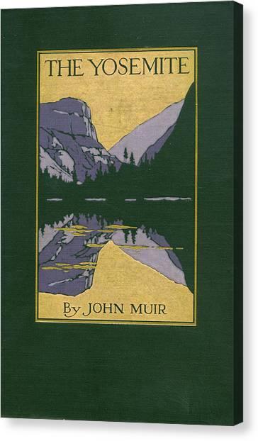 Cover Design For The Yosemite Canvas Print