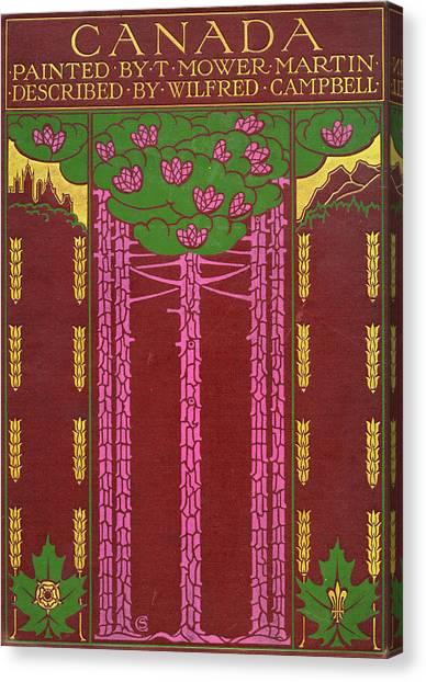 Cover Design For Canada Canvas Print