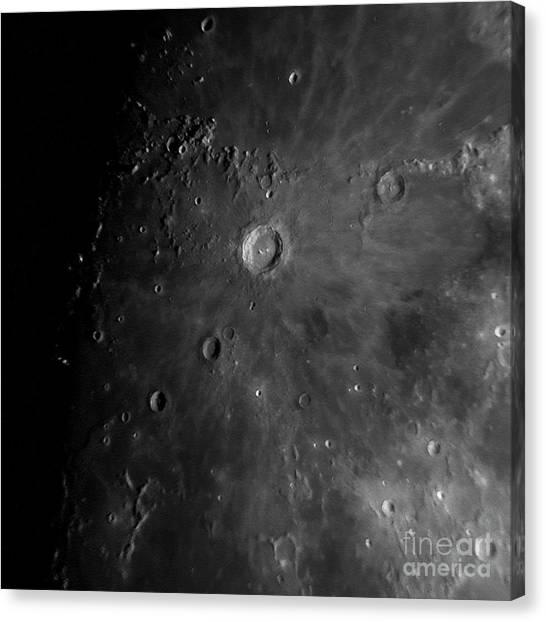 Crater Copernicus Canvas Print