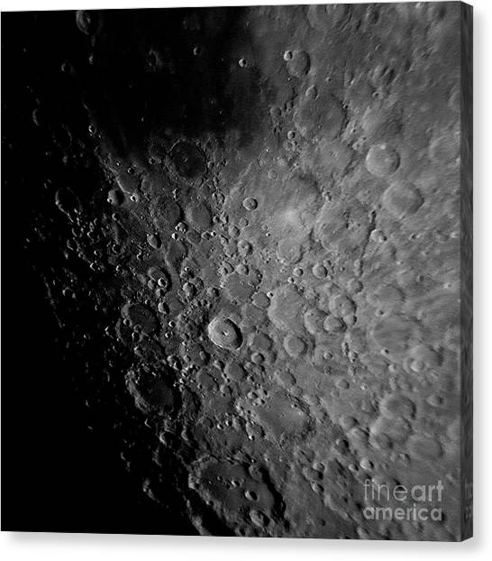 Crater Tyco Canvas Print