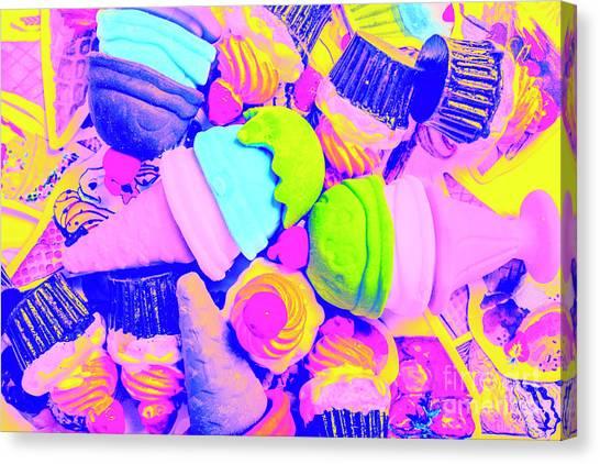 Fast Food Canvas Print - Creme De La Ice-cream by Jorgo Photography - Wall Art Gallery