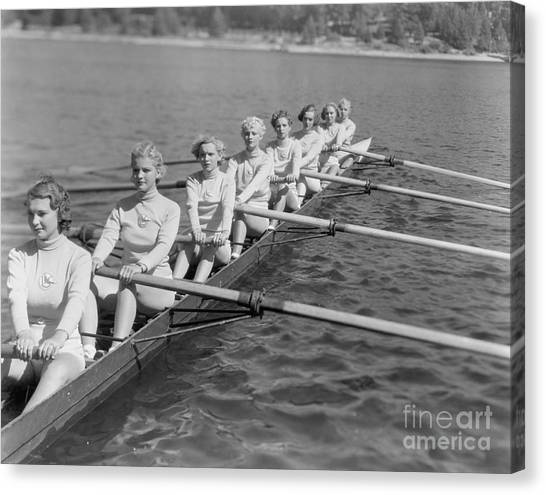 Horizontal Canvas Print - Crew Team by Everett Collection