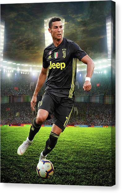 outlet store cbb96 adf26 Cristiano Ronaldo Canvas Prints (Page #6 of 6) | Fine Art ...