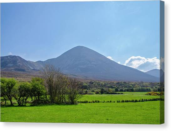 Canvas Print - Croagh Patrick In County Mayo Ireland by Bill Cannon