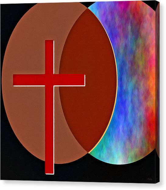 Resurrected Canvas Print - Crossing Paths by Glenn McCarthy Art and Photography