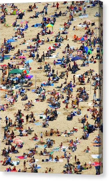 Crowd Canvas Print