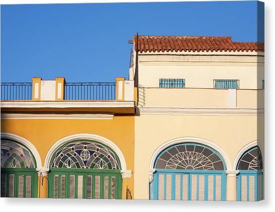 Cuba, Ciudad De La Habana Province Canvas Print
