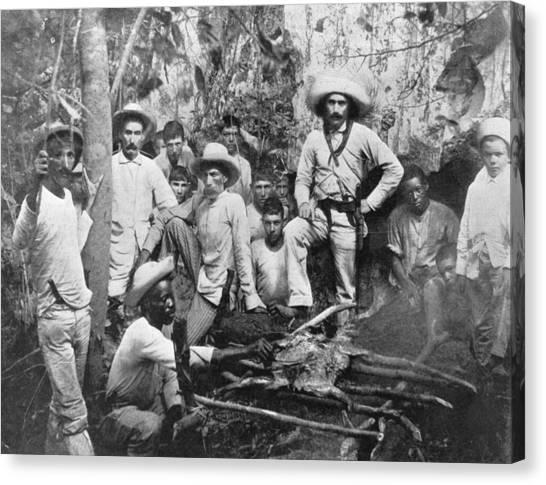 Cuban Rebels Canvas Print by Hulton Archive