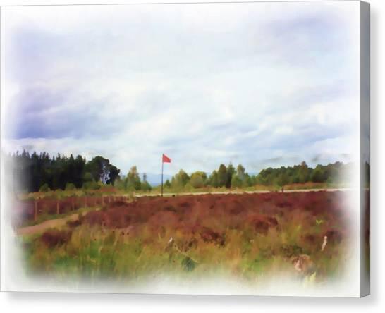 Culloden Battlefield Painting Canvas Print