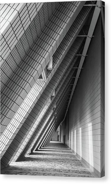 Cultural Centre Hong Kong Canvas Print