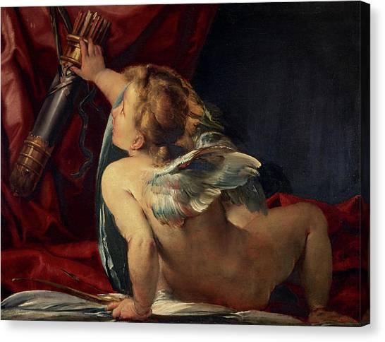 Procaccini Canvas Print - Cupid, 1620 by Giulio Cesare Procaccini