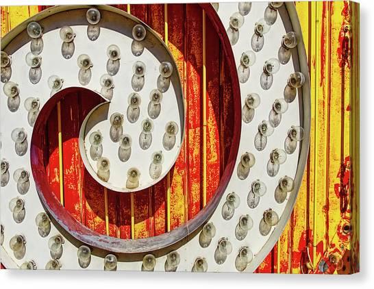 Canvas Print - Curl by Skip Hunt