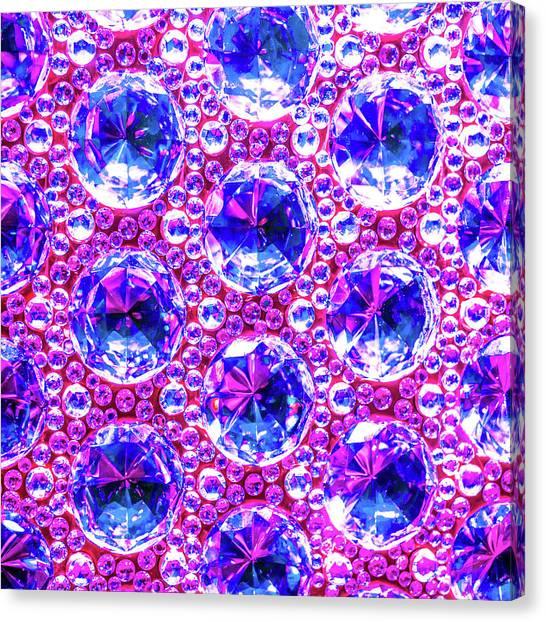 Cut Glass Beads 4 Canvas Print