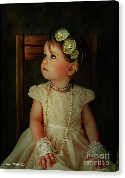 Cutie Pie Canvas Print