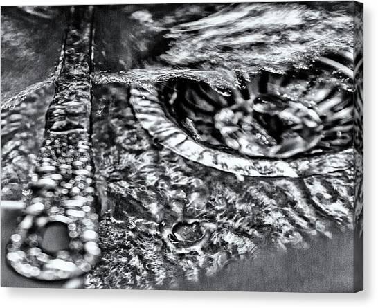 Cutlery Tsunami Canvas Print