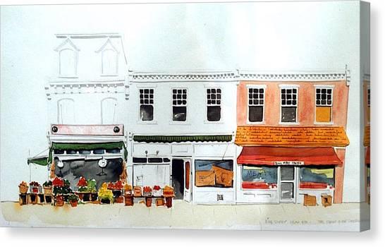 Cutrona's Market On King St. Canvas Print