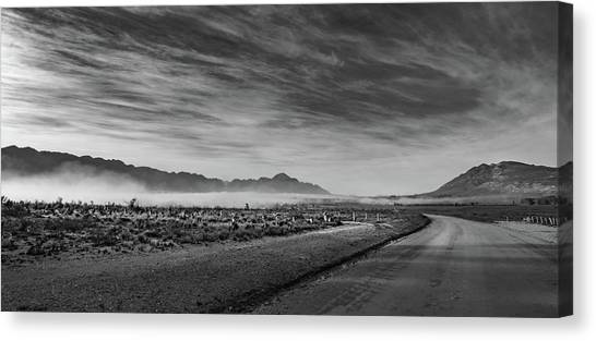 D1101 - Tulbagh Landscape Canvas Print