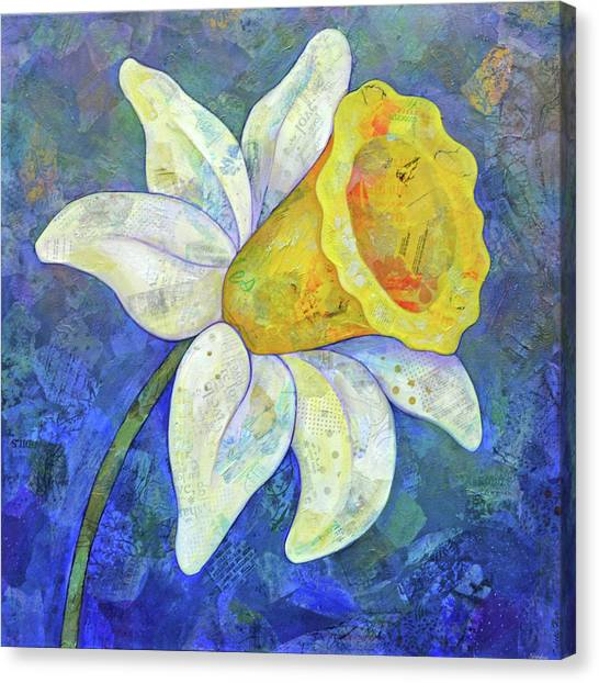 Follies Canvas Print - Daffodil Festival I by Shadia Derbyshire