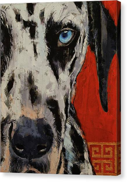 Dalmations Canvas Print - Dalmatian by Michael Creese