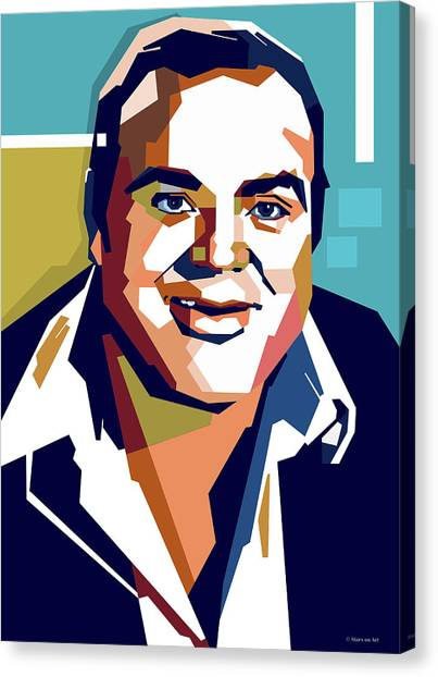 Dan Blocker Canvas Print