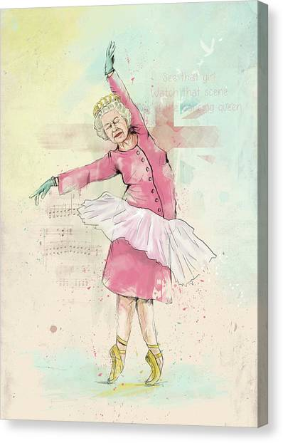 Uk Canvas Print - Dancing Queen by Balazs Solti