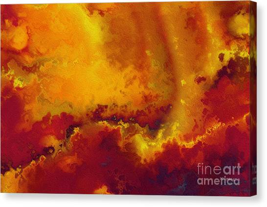 Daniel 6 27. He Delivers And Rescues Canvas Print