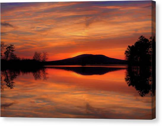 Dan's Sunset Canvas Print