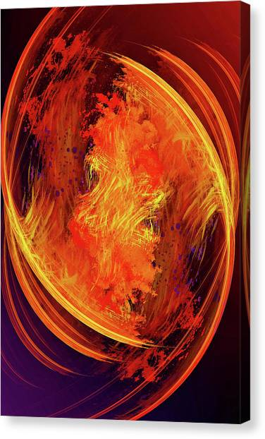 Canvas Print - Dantes Inferno by Skip Hunt