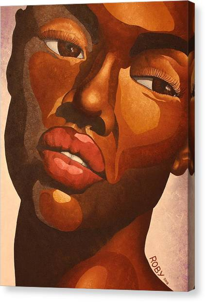 Dark And Lovely Canvas Print